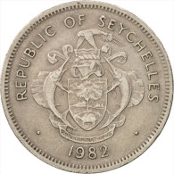Seychelles, Rupee, 1982, British Royal Mint, TTB, Copper-nickel, KM:50.1 - Seychelles