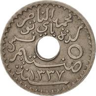 Tunisie, 5 Centimes, 1918, Paris, TTB+, Nickel-Bronze, KM:242 - Tunisie
