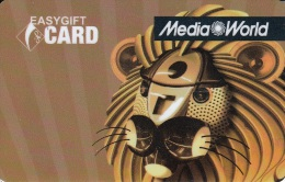 Gift Card Italy Media World - 006b - Lion - Gift Cards