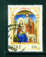IRELAND  -  2004  Christmas  48c  Used As Scan - 1949-... Republic Of Ireland