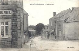 53 MAYENNE - ANDOUILLE Rue Du Pont, Cachet Association Des Dames Françaises Au Verso - Autres Communes