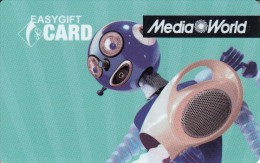 Gift Card Italy Media World - 007a - Aquarius - Gift Cards