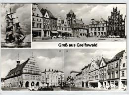 Greifswald - Mehrbildkarte DDR - Greifswald