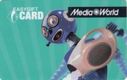 Gift Card Italy Media World - 007b - Aquarius - Gift Cards