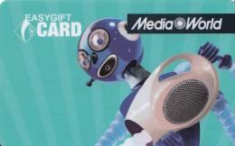 Gift Card Italy Media World - 007c - Aquarius - Gift Cards