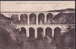 CPA - (18) Culan - La Vallée De L'arnon Et Les 2 Viaducs - Culan