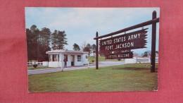 South Carolina United State Army  Entrance  Fort Jackson=====ref  43 - Non Classés