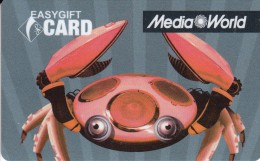 Gift Card Italy Media World - 011b - Cancer - Gift Cards