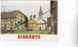 SIERENTZ (68) Eglise Saint Martin (petit Cran à Droite) - Francia