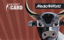 Gift Card Italy Media World - 012a - Taurus - Gift Cards