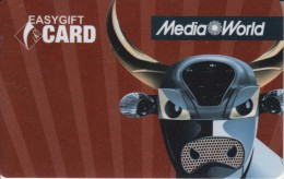 Gift Card Italy Media World - 012c - Taurus - Gift Cards