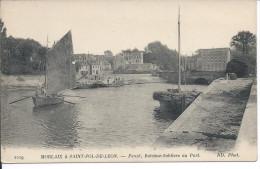 Penzé, Bateaux-Sabliers Au Port. MORLAIX à SAINT-POL-DE-LEON. - Other Municipalities