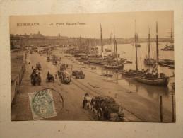 Carte Postale - BORDEAUX (33) - Le Port St Jean (154M) - Bordeaux
