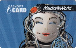 Gift Card Italy Media World - 014a - Vierge - Gift Cards