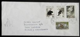 BELIZE Nice Big Cover To Bosnia,Sarajevo 2000 Y. (monkeys...) - Singes