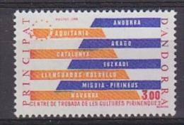 Andorra Fr. 1984 Centro Culturas Pirenaicas 1v ** Mnh (27502) - Ideas Europeas