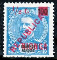 !■■■■■ds■■ Kionga Quionga 1916 AF#1* King Carlos Surcharged 1/2 Centavo Quality 2 SCANS (x0310) - Kionga