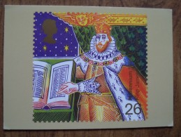 51061 POSTCARDS: STAMPS (PICTURES):  26p Christian's Tale (King James Bible). - Stamps (pictures)