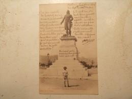 Carte Postale - VALENCE (26) - Statue Du Général Championnet (166M) - Valence