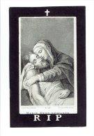489 ( 2 Scans )   Maria VAN AKEN Geb Liezele 1792 + 1879 - Andachtsbilder