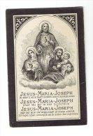506 ( 2 Scans )  Amelie VAN EYCKE Geb Haasdonk En Er Overleden 1894 - Images Religieuses
