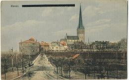 Reval Tallinn  Edit Von Der Ley No 780 Used Russia 1916 Nice Stamps - Estonie