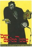Germany   Der Ewige Jude.    - Reprint Of Poster      # 04950 - Jewish