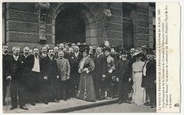 Advert Postcard Dealer Tuck July 1903 Visit Of French President At Raphael House - London