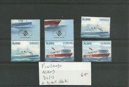 ALAND 312/13 + BDF ILLUSTRE - Europe (Other)
