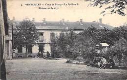 MILITARIA (78) VERSAILLES - CAMP DE SATORY Le Pavillon C ( Batiment De La 25/3 ) - CPA - Yvelines - Other