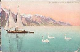 Divers   514          Barques Du Léman Et Les Dents D'Oche - Schweiz