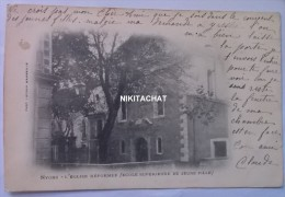 NYONS-L'église Réformée-Précurseur-Voir Dos - Nyons
