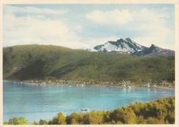 """Noruega--1963--Towards Ankenes And The 15786m High Mountain """"Sleeping Queen """"----Narvik-a, Eure, Francia - Noruega"""