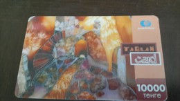 Kazakhstan-tarlan Card-10.000tehre-used Card+1card Prepiad Free - Kazakhstan