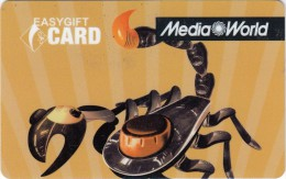 Gift Card Italy Media World - 017a - Scorpion - Gift Cards