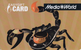Gift Card Italy Media World - 017b - Scorpion - Gift Cards