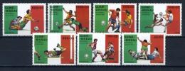 1989 - GUINEA BISSAU - Mi. Nr. 1072/1079 - NH - (IBE1385000011......E) - Guinea-Bissau