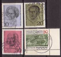 BRD , 1970 , Mi.Nr. 616 - 618 / 619 O - BRD