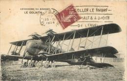 LE BOURGET AERODROME AVION  LE GOLIATH - Le Bourget