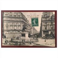 Paris  Statue De Louis XIV  Rue Etienne Marcel   132  BF Paris - Statues