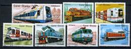 1989 - GUINEA BISSAU - Mi. Nr. 1033/1039 - Used - (IBE1385000011......E) - Guinea-Bissau