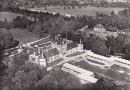 Saint Martin Sur Ouanne 89 - Vue Aérienne Château De Hautefeuile - Cachet Colonie Vacances Du Château - Frankreich