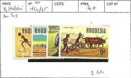RHODESIE DU SUD N° 162/65 ** - Southern Rhodesia (...-1964)
