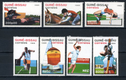 1988 - GUINEA BISSAU - Mi. Nr. 935/941 - NH - (IBE1385000011......E) - Guinea-Bissau