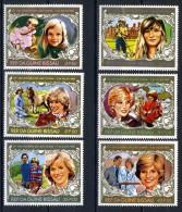 1982 - GUINEA BISSAU - Mi. Nr. 630/635 - NH - (IBE1385000011......E) - Guinea-Bissau
