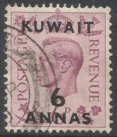 Kuwait. 1948-49 KGVI Stamps Of GB O/p. 6a Used. SG 70 - Kuwait