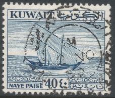 Kuwait. 1958 Definitives. 40np Used. SG 136 - Kuwait