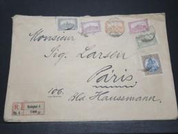 HONGRIE - Env Recommandée Budapest Pour Paris - Juil 1907 - A Voir - P21191 - Marcophilie
