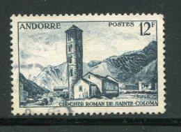 ANDORRE- Y&T N°145- Oblitéré