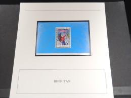 BHOUTAN - Bloc Luxe Avec Texte Explicatif - Belle Qualité - À Voir -  N° 11525 - Bhoutan